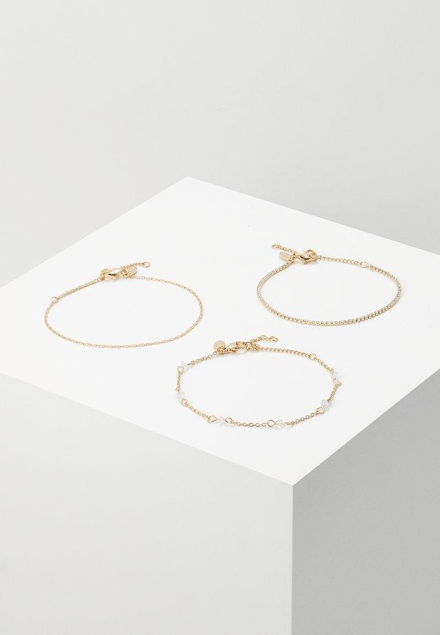 3 PACK - Náramek - gold-coloured