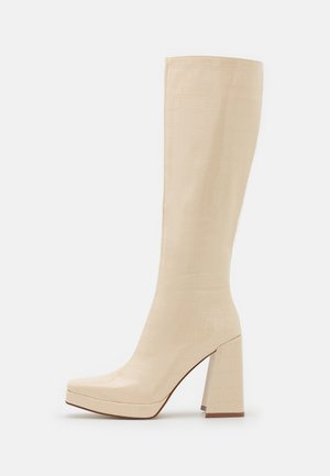 ROSIE - High heeled boots - offwhite