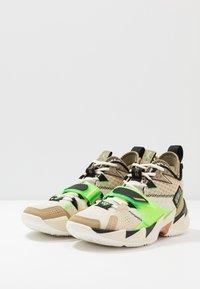 Jordan - WHY NOT ZER0.3 - Basketball shoes - parachute beige/rage green/fossil/black - 2