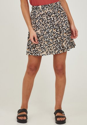 MARRAKECH - A-line skirt - tan