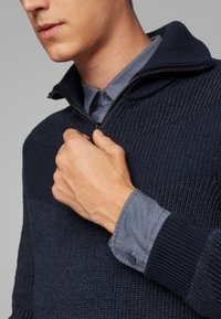 BOSS - MAGNETON - Overhemd - dark blue - 4