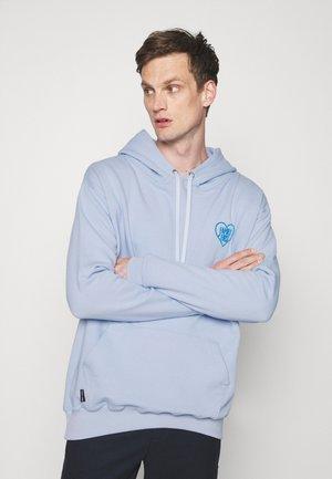 HOODIE HEART - Sweater - light blue