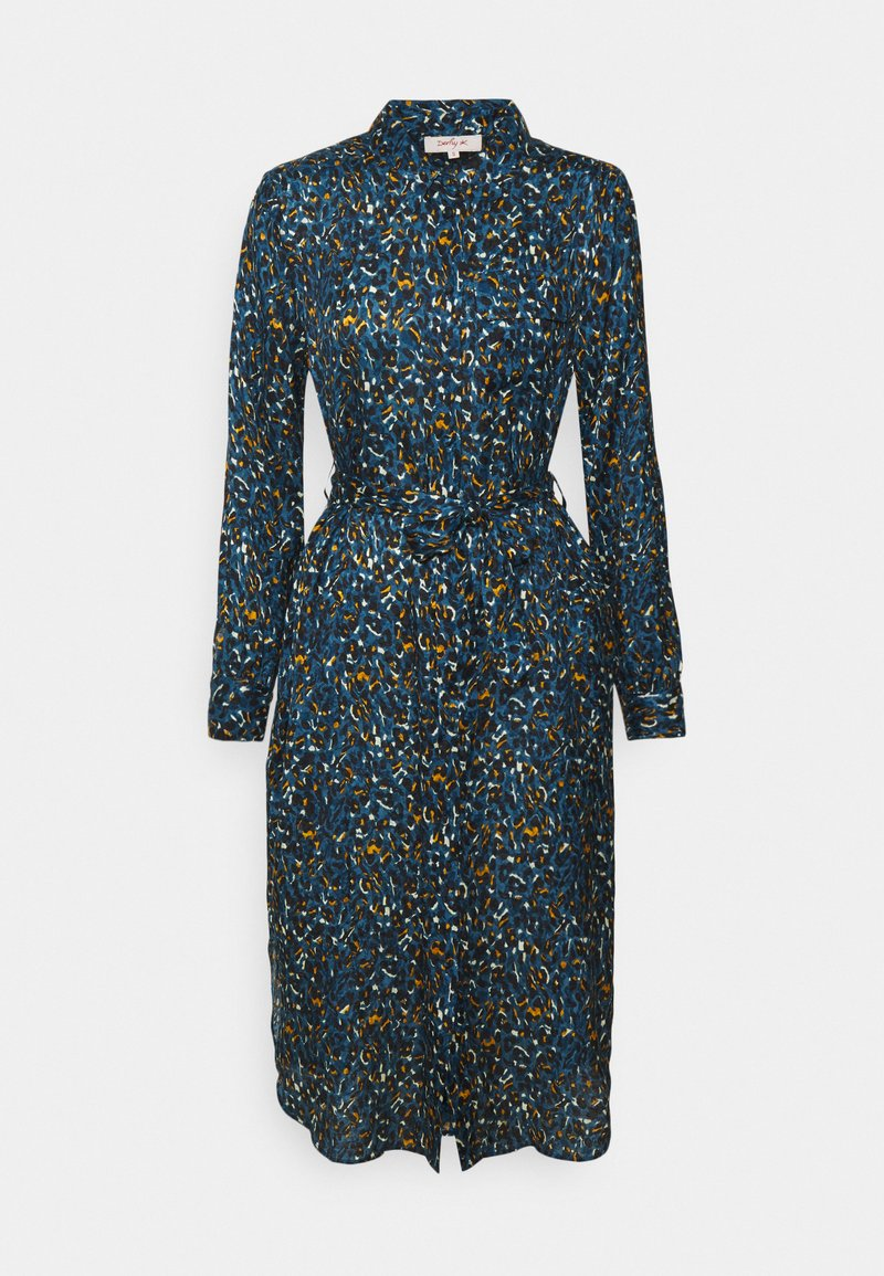 Derhy - EPIDAURE - Shirt dress - blue