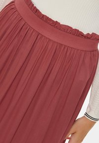 ONLY - Pleated skirt - cowhide - 3