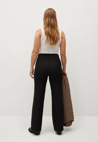 Violeta by Mango - CROWN - Trousers - schwarz - 2