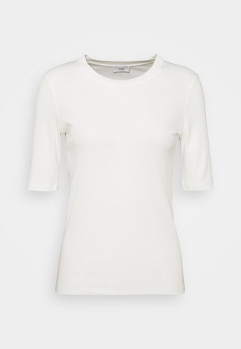WOMENS - Basic T-shirt - ivory