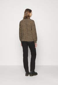 ONLY - ONLSOFIA LEO - Sweatshirt - black/animal dark brown - 2
