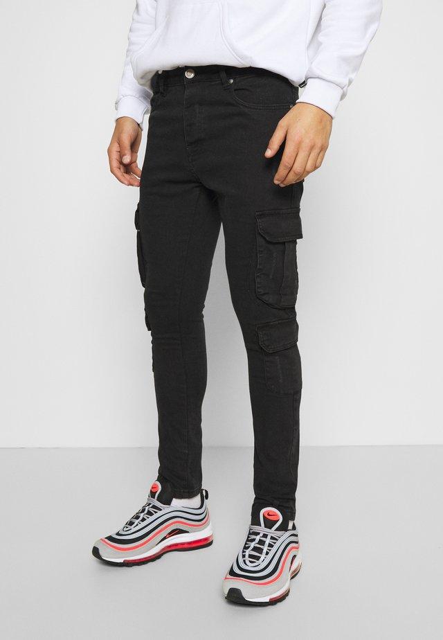 HAMBURG - Jeans Skinny Fit - charcoal wash
