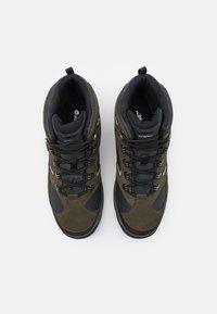 Hi-Tec - STORM WP - Zapatillas de senderismo - olive night/black/charcoal - 3