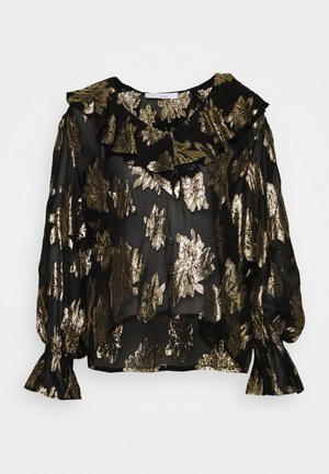 LABRA - Blouse - black/gold
