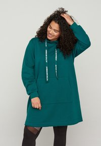 Active by Zizzi - Jersey con capucha - green - 0