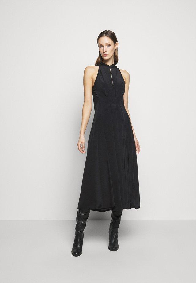 HALTERNECK EVENING DRESS - Robe de cocktail - black