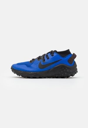 WILDHORSE 6 - Trail running shoes - racer blue/black/baroque brown