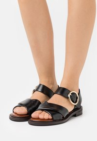 See by Chloé - LYNA FLAT - Sandals - black - 0