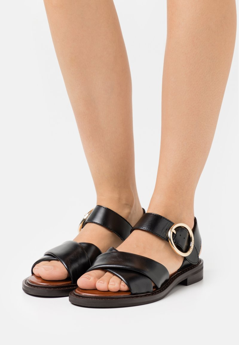 See by Chloé - LYNA FLAT - Sandals - black