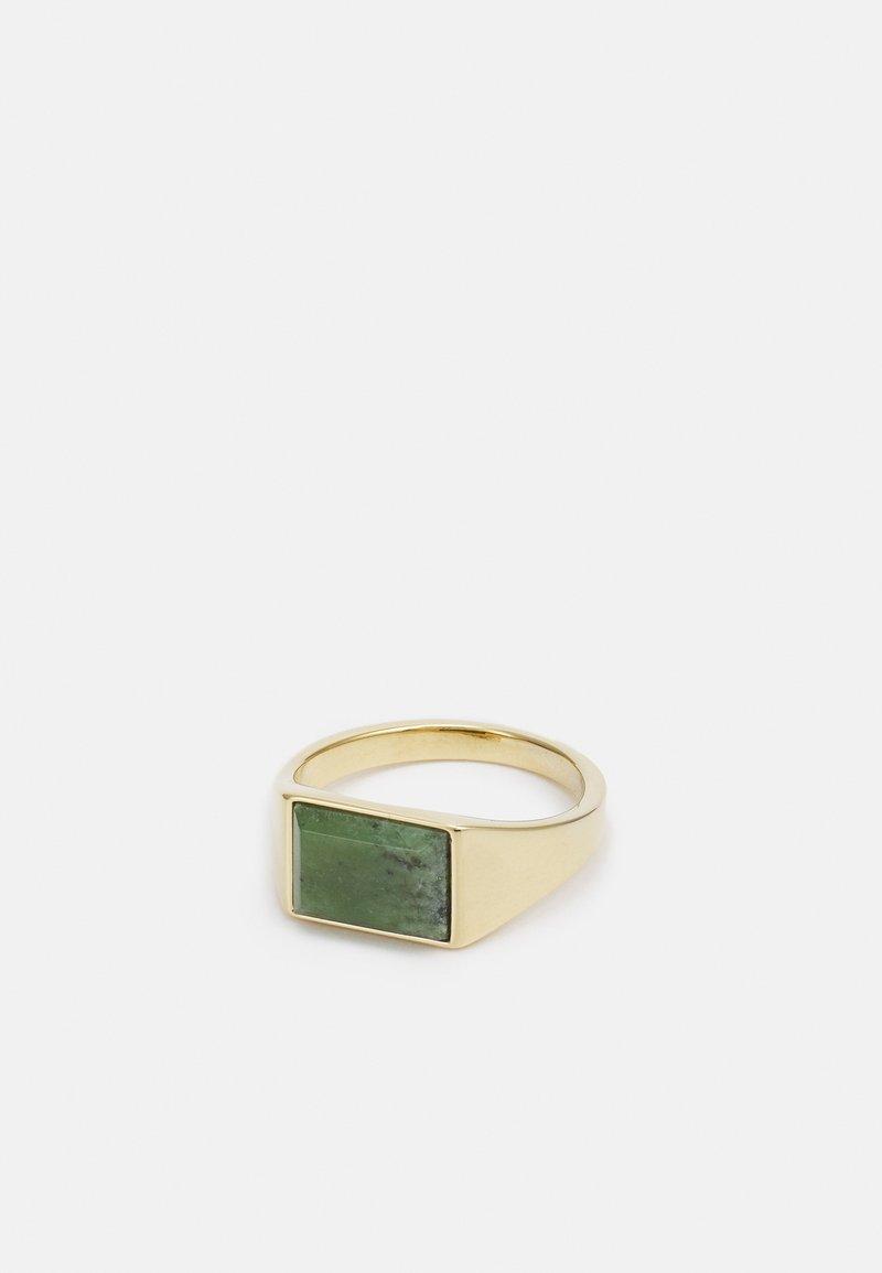 Miansai - LENNOX - Anello - gold-coloured/green
