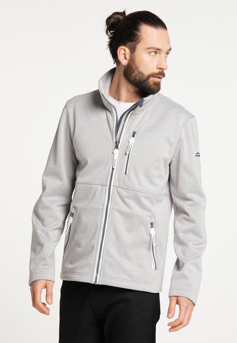 ICEBOUND - Light jacket - hellgrau melange