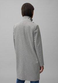 Marc O'Polo - SINGLE BREASTED WELT POCKETS - Classic coat - middle stone melange - 2