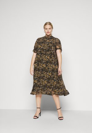 SLFLINA DRESS CURVE - Vapaa-ajan mekko - black