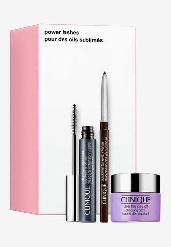 POWER LASHES - Makeup set - -