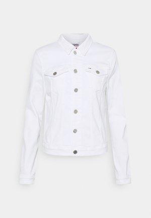 VIVIANNE SLIM TRUCKER  - Denim jacket - white