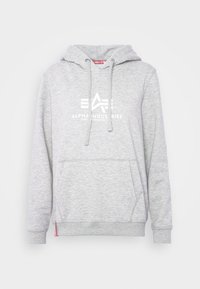 Alpha Industries - NEW BASIC  - Hoodie - grey heather - 5