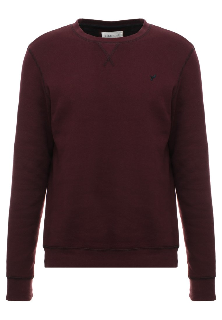 Pier One Sweatshirt - Bordeaux/vinrød