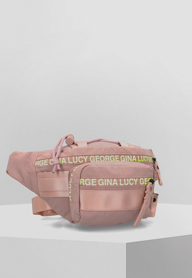 BELLY BEAN  - Bum bag - light pink