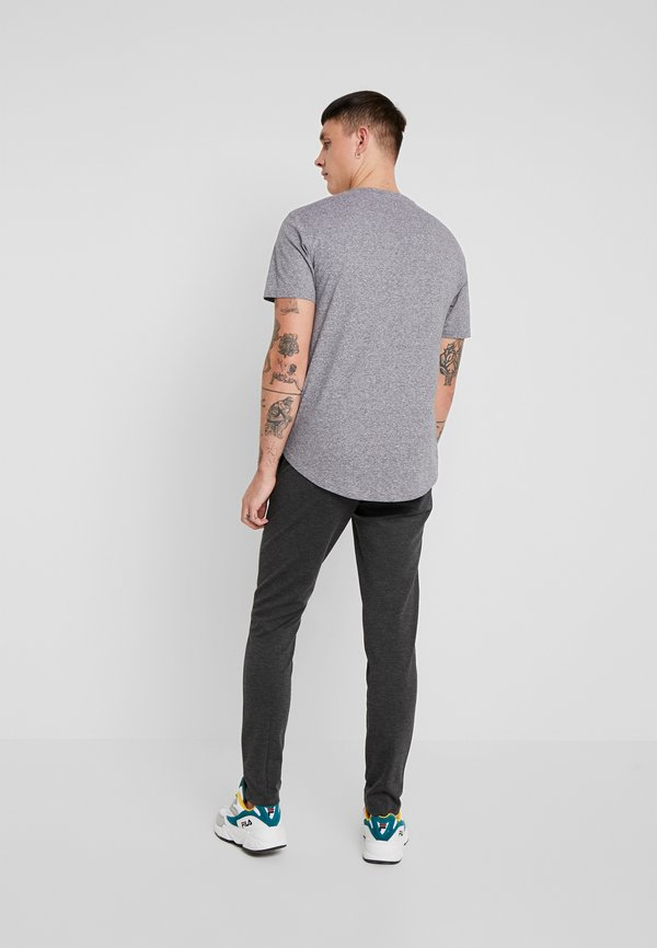 Only & Sons ONSMARK PANT - Spodnie materiałowe - dark grey melange/ciemnoszary melanż Odzież Męska TGGD