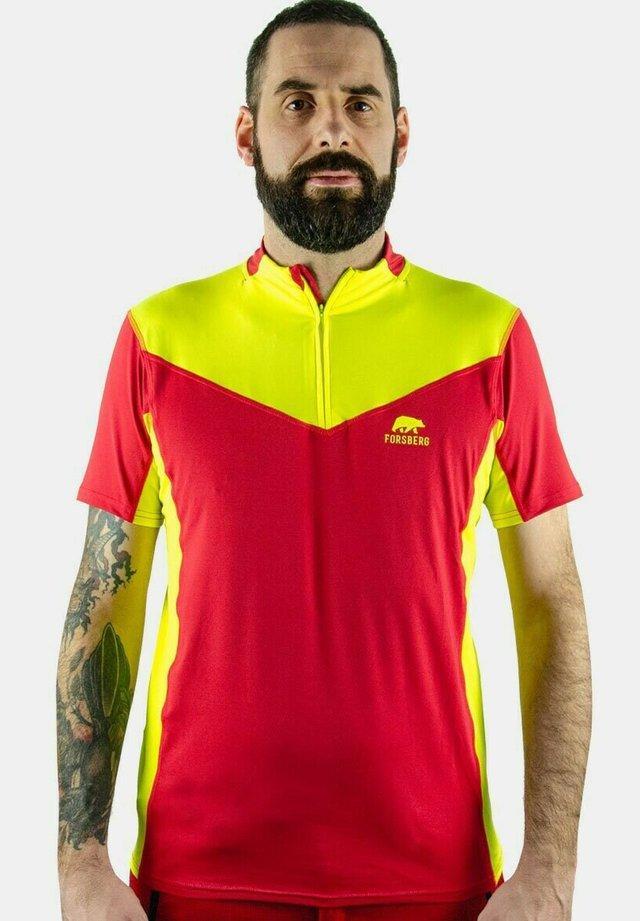 SKJORTA  - Polo shirt - rot