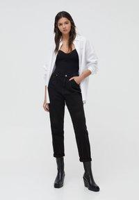 PULL&BEAR - Pantalon classique - black - 1