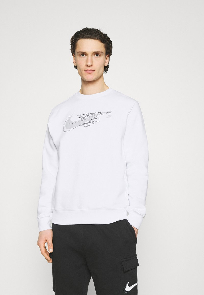 Nike Sportswear - COURT CREW - Sweatshirt - white