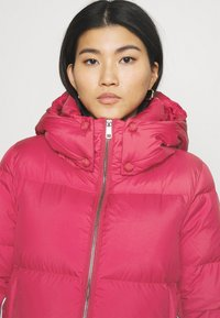 Tommy Hilfiger - PUFFY HOODED - Doudoune - royal magenta - 4