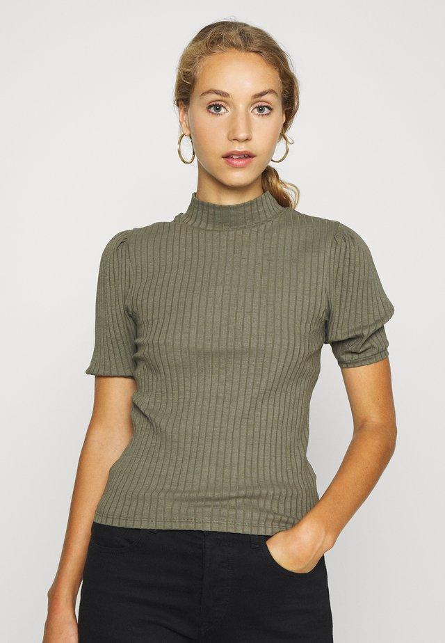 NMWIPPET - Basic T-shirt - dusty olive