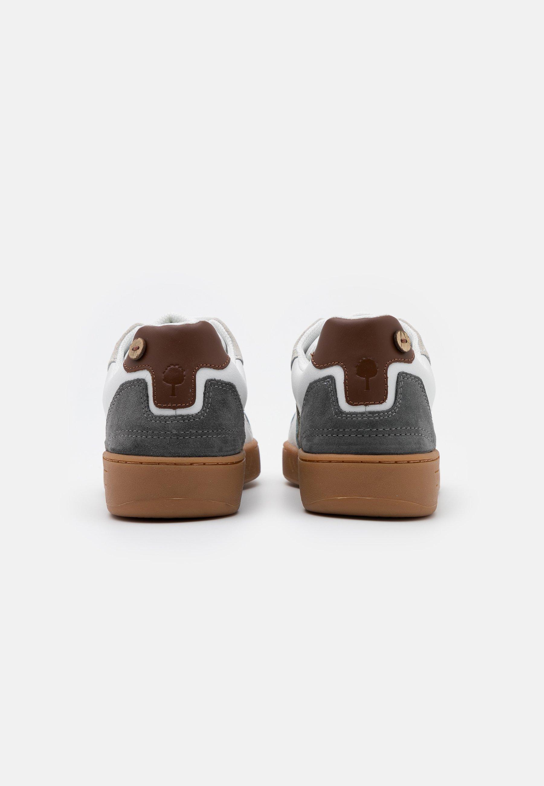 Faguo CEIBA BASKETS  - Sneaker low - offwhite/green/weiß - Herrenschuhe ZSOJ8