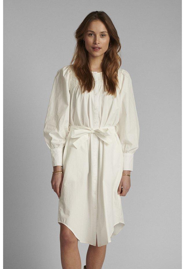 NUSUMMER DRESS - Hverdagskjoler - bright white