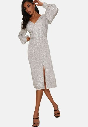Cocktail dress / Party dress - silver  coloured