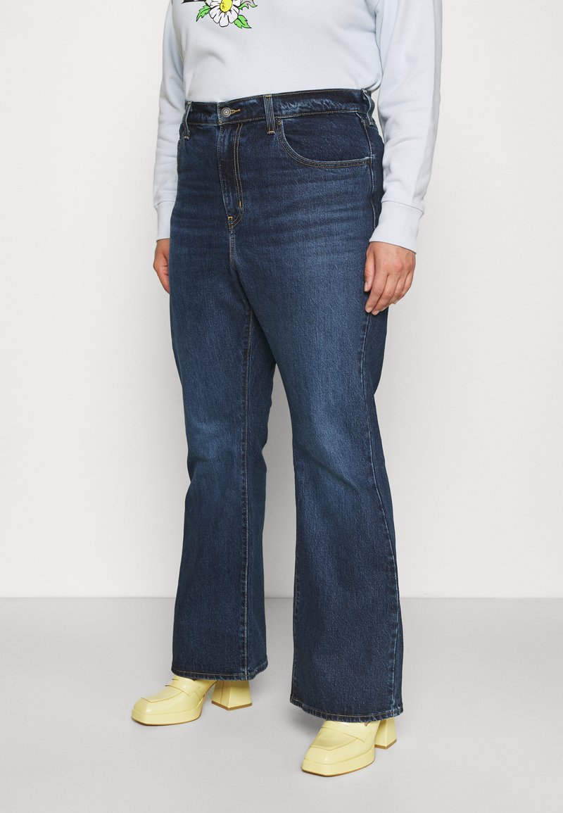 Levi's® Plus - PLUS 70S HIGH FLARE - Relaxed fit jeans - sonoma train