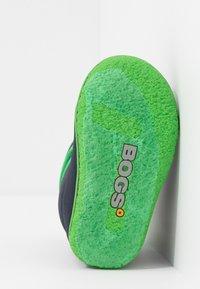 Bogs - BABY SOLID - Zimní obuv - navy - 5