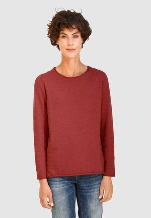 PULLOVER - Sweatshirt - terracotta