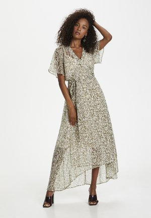 Day dress - military olive