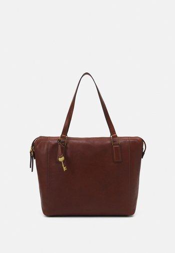 JACQUELINE - Tote bag - brown