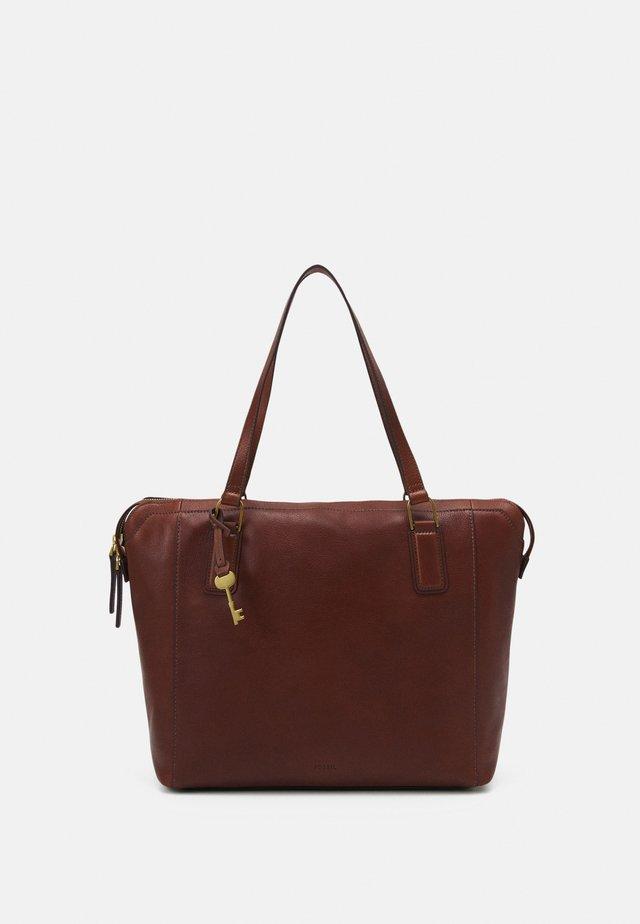 JACQUELINE - Shopping bag - brown