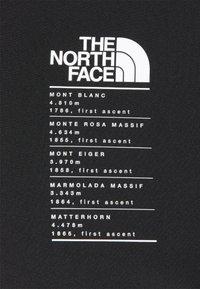 The North Face - GLACIER TEE - Camiseta estampada - tnf black - 5