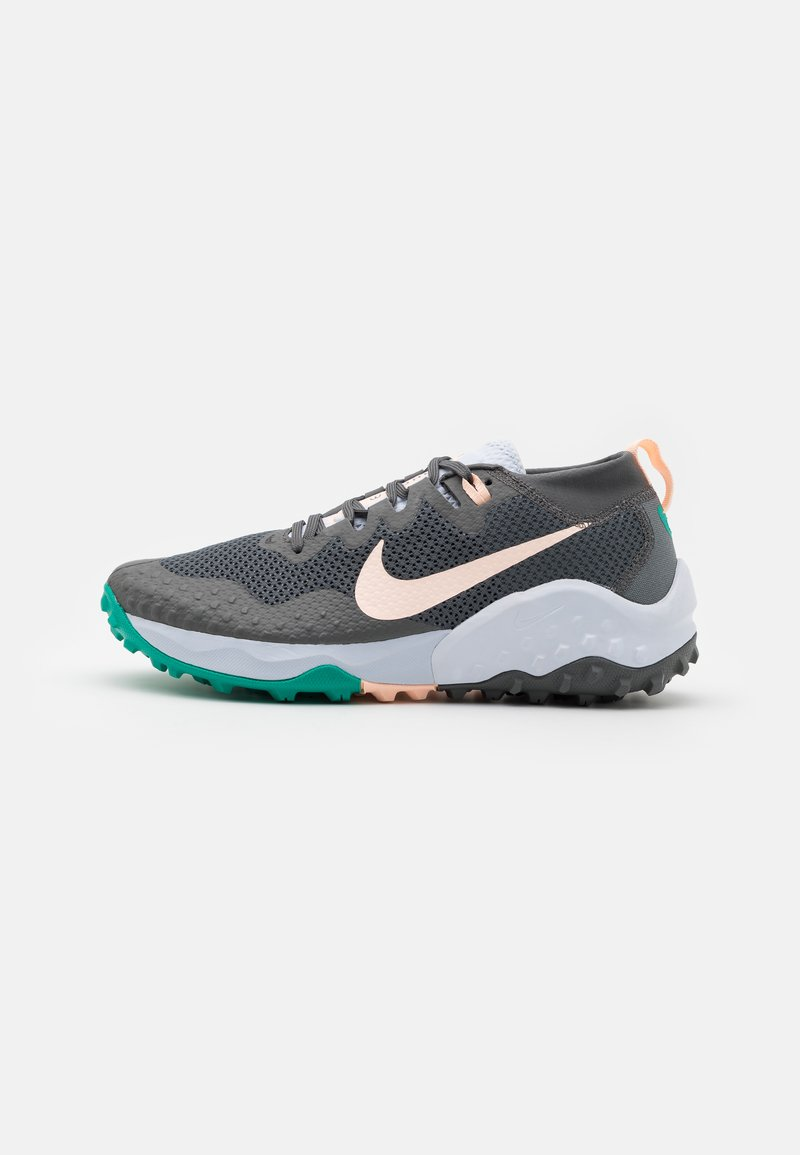 Nike Performance - WILDHORSE 7 - Zapatillas de trail running - iron grey/football grey/neptune green/crimson tint