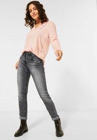 Cecil - Slim fit jeans - grau - 0