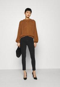 Anna Field - Slim fit jeans - black - 1