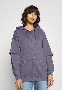 BDG Urban Outfitters - ZIP THROUGH HOODIE - Sweatjacke - lilac - 0
