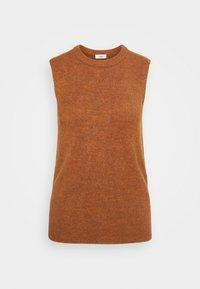 JDY - JDYELANOR VEST - Toppi - leather brown - 4
