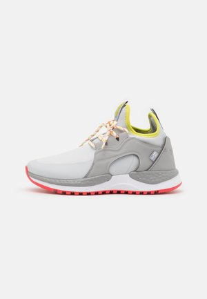 SH/FT AURORA OD - Trail running shoes - grey ice/chartreuse